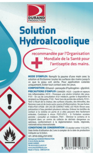 Solution Hydo-alcoolique 50ml