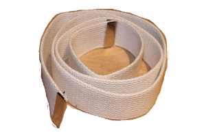 Ceinture blanche toile Scout Marin