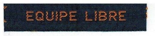 Accessoire uniforme scout: Bande patrouille